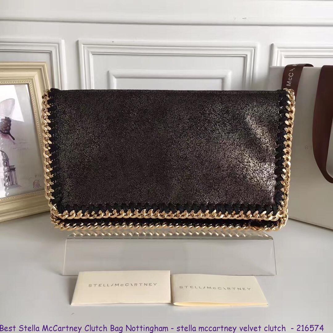 hot-selling enjoy bottom price discount for sale Best Stella McCartney Clutch Bag Nottingham - stella mccartney velvet  clutch - 216574